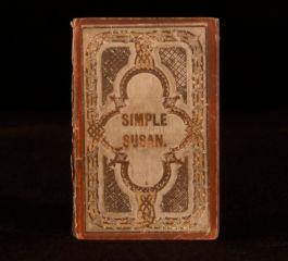 1858 Simple Susan Other Stories By Maria Edgeworth Frontispiece In Paper Wraps