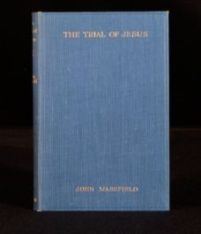 1925 The Trial of Jesus John Masefield First Edition Play