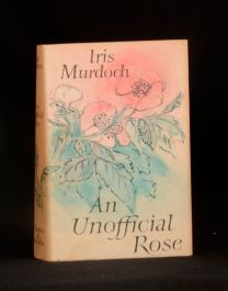 1962 Murdoch First Edition An Unofficial Rose in Dustwrapper Iris Murdoch