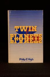 1968 Philip E High Twin Planets 1st Ed Science Fiction Planets Space War Aliens