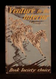 1952 Venture to the Interior Laurens van der Post First Edition Frontispiece