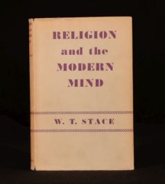 1953 Religion and the Modern Mind W T Stace In Dustwrapper