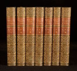 1839 7vol The Works of Mrs Hemans With a Memoir of Her Life Fine Binding