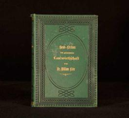 1878 William Lobe Hand Lexicon Gesammten Landwirthschaft German Agriculture