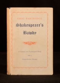 1956 Shakespeare's Bawdy Eric Partridge Dustwrapper Literary Criticism