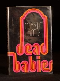1975 Dead Babies Martin Amis First Edition in Dustwrapper Satirical Novel