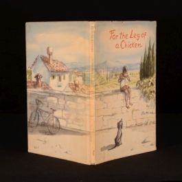 1960 For the Leg of a Chicken by Bettina First Edition Author's Presentation
