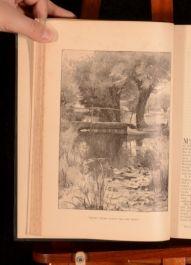 1889-1894 6 Vol Harper's Magazine 18-27 European Editions