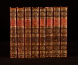 1812 8vol The Works of Alexander Pope in Verse and Prose Dr Johnson
