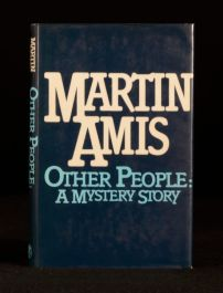 1981 Martin Amis Other People A Mystery Story First Edition in Dustwrapper