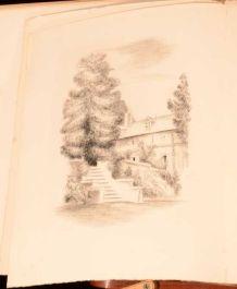 1949 Fables de mon Jardin Georges Duhamel Camille Berg Illus Limited Scarce