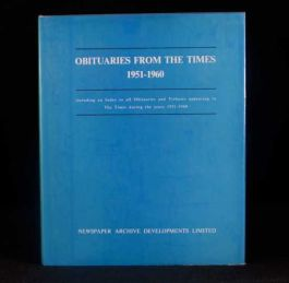 1975-1979 3Vol Obituaries from The Times 1951-1975 Frank C. Roberts