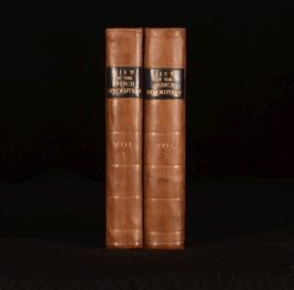 1795 2vol A View of the Causes and Progress of the French Revolution John Moore