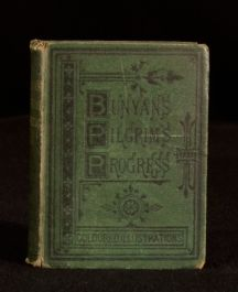 c1880 The Pilgrim's Progress John Bunyan Coloured Plates Cooper