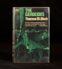 1967 Thomas Disch The Genocides Scarce First English Edition with Dustwrapper