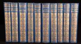 1911 10 vol The Works of William Makepeace THACKERAY Illustrated Limited Edition