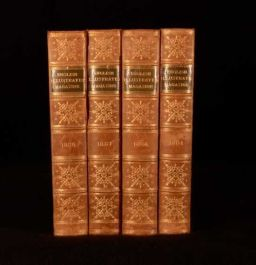 1884-87 4vols The English Illustrated Magazine by Various Contributors