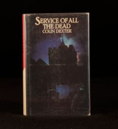 1980 First US Edition of Service of all the Dead by Colin Dexter