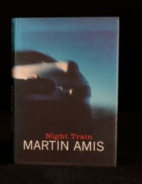 1997 Martin Amis Night Train First Edition First Impression Dustwrapper