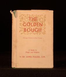 1950 The Golden Bough Magic and Religion James George Frazer Abridged