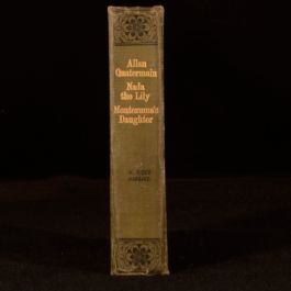 c1890 Allan Quatermain Nada the Lily Montezuma's Daughter H Rider Haggard