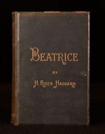 1890 Beatrice A Novel by H Rider Haggard Romance Novel