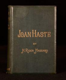 1895 H Rider Haggard Joan Haste Illustrated F S Wilson