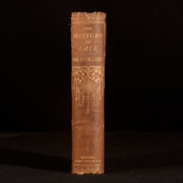 1875 The History of Lace Mrs Bury Palliser Illustrated Third Edition