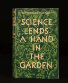 1939 Science Lends a Hand in the Garden Sir Frederick Keeble Dustwrapper