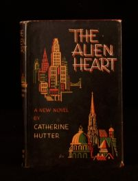 1955 The Alien Heart Catherine Hutter First Edition in Dustwrapper