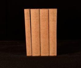 c1940 4vols The Works of Jane Austen by Jane Austen