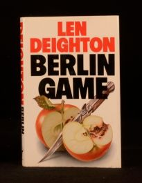 1983 Berlin Game Len Deighton First Edition in Dustwrapper