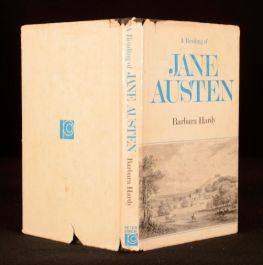1975 Barbara Hardy Reading of Jane Austen Literary Criticism Classic Literature