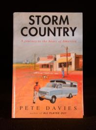 1992 Pete Davies Storm Country Journey to the Heart of America First Travel Book