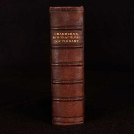 c1900 Chambers's Biographical Dictionary: The Great of all Nations and all Times