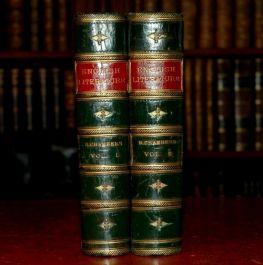 1882 2vols CHAMBERS Cyclopaedia ENGLISH LITERATURE illus