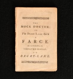 1732 The Mock Doctor or the Dumb Lady Cur'd A Farce