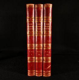 1844-46 3vol The People's Gallery of Engravings