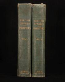 1908 2vol BRITISH & SPORTS SPORTSMEN Past Present First