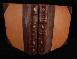 1905-07 2vols BURLINGTON MAGAZINE Fine Arts PERIODICAL