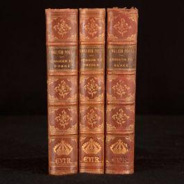 1896-1900 3vol The English Poets Selections Matthew Arnold Thomas Humphry Ward