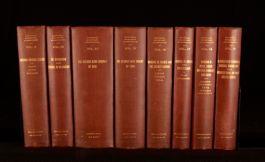 1911 8Vols National Monetary Commission Set Detailing European Banking