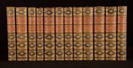 1904-6 12vols Tragedies and Poems of Swinburne With William Blake by Swinburne
