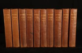 1835 10 Vols The LIFE of Samuel JOHNSON by BOSWELL