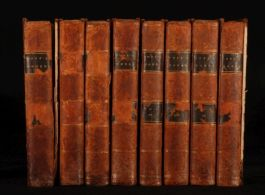 1806 8 Vols WORKS of Alexander POPE Ed. Lisle BOWLES