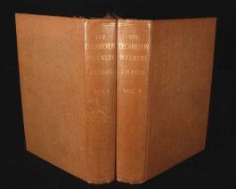 1903 3vols DECAMERON Giovanni Bocccaccio Illus Plates