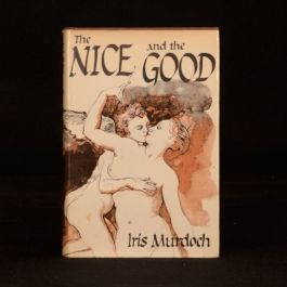 1968 The Nice and The Good First Edition Iris Murdoch Ranfurly Ex Libris
