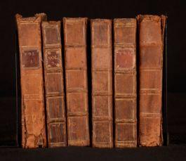 1692-94 6vols of Letters Writ By A Turkish Spy Vols I II IV V VI VII Ottoman