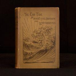 1894 The Ebb Tide a Trio and Quartette First Edition Robert Louis Stevenson