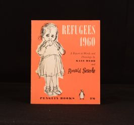 1960 Refugees 1960 a Report in Words and Drawings Kaye Webb Ronald Searle